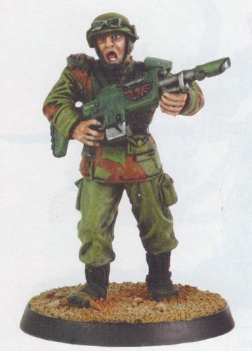 Sergeant Dorian Black 54mm