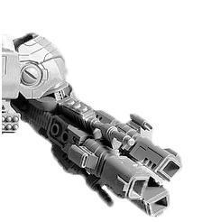 KX139 Ta'unar Supremacy Armour Tri-axis Ion Cannon