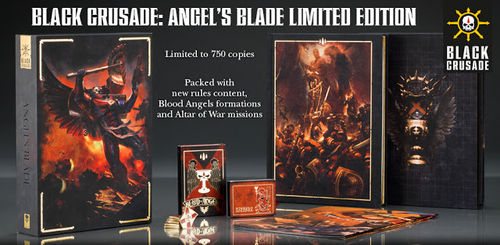 Black Crusade: Angel's Blade Limited Edition (Englisch)