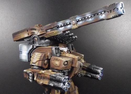 Tau KX139 Ta'unar Supremacy Armour Heavy Rail Cannon Array