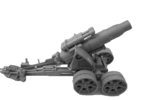 Heavy Artillery Carriage with Medusa Siege Gun