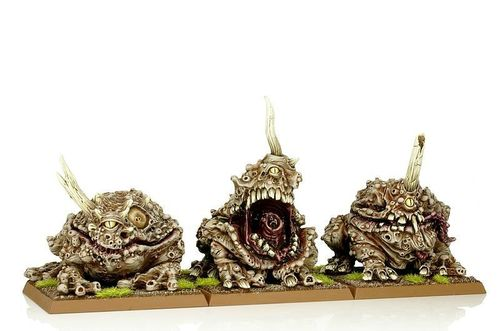 Daemon Plague Toads of Nurgle