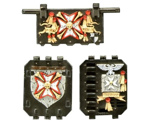 BLACK TEMPLARS LAND RAIDER DOORS SET 1