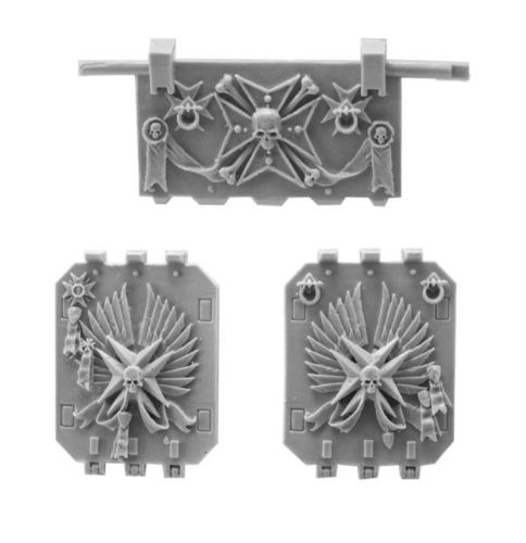 Black Templars Land Raider Doors Set 2