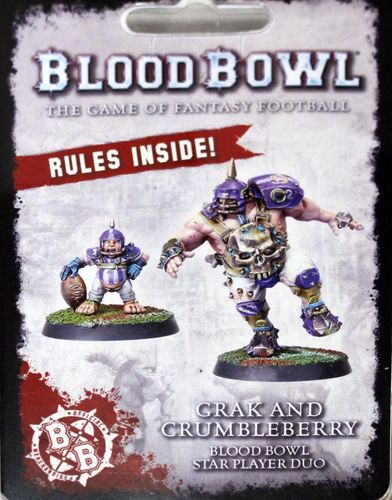 Grak and Crumbleberry Bloodbowl