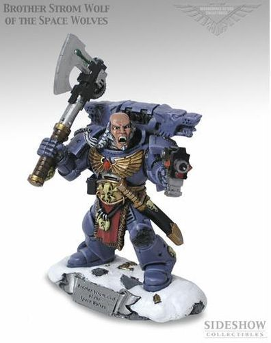 Brother Strom Wolf of the Space Wolves