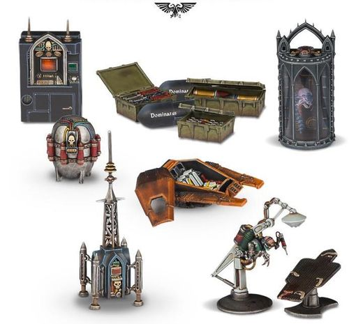 Warhammer 40.000 Sector Imperialis Objectives (40-43)