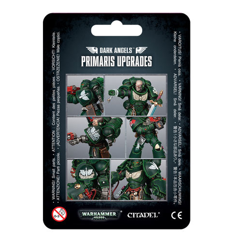 Upgrades: Dark Angels Primaris