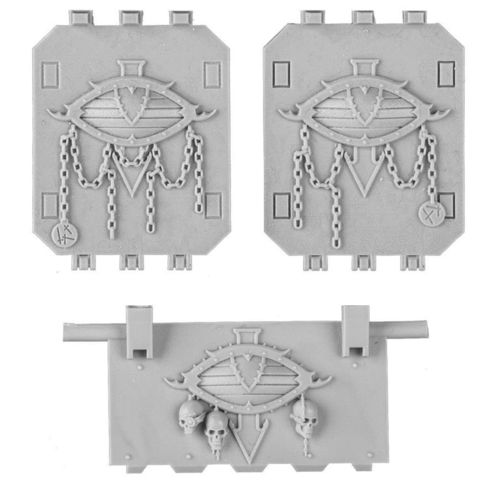 Sons of Horus Land Raider Doors