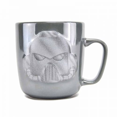 Warhammer Embossed Metallic Mug - Space Marine