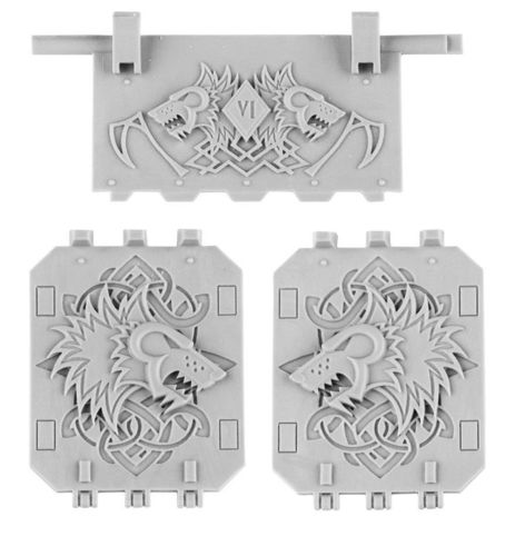 Space Wolves Land Raider Doors