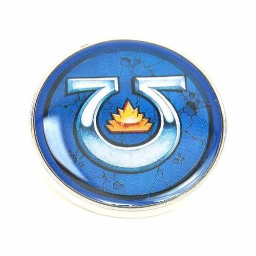 Warhammer 40,000 Pin Badge - Ultramarines