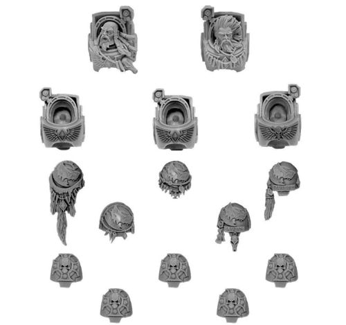 Space Wolves Terminator Conversion Set
