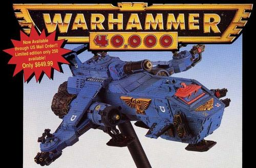 Thunderhawk Gunship (Metal)