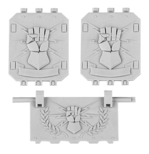 Imperial Fists Land Raider Doors Set 2