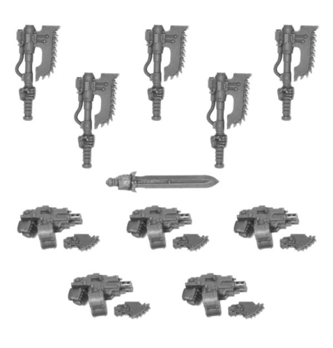 CATAPHRACTII POWER AXE SET
